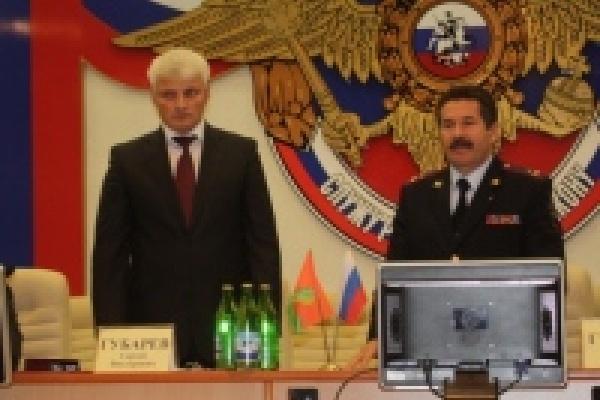 Сергей Губарев возглавил полицию Владимирской области