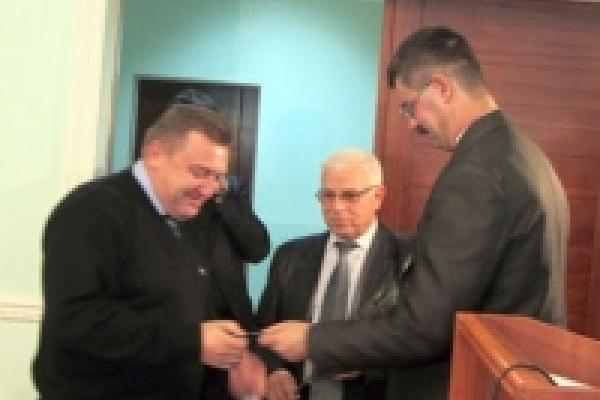 Новым депутатам Липецкого горсовета вручили удостоверения