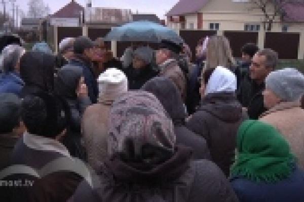 Жители Желтых Песков против перепланировки района