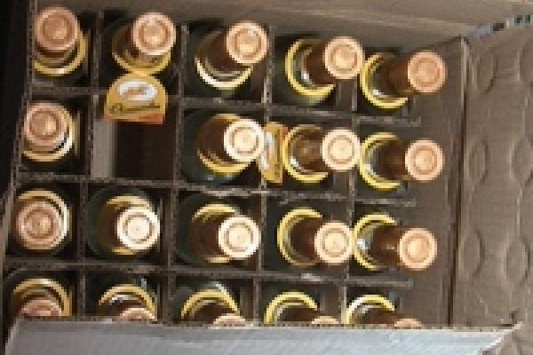 Полиция захватила две партии «липового» спиртного
