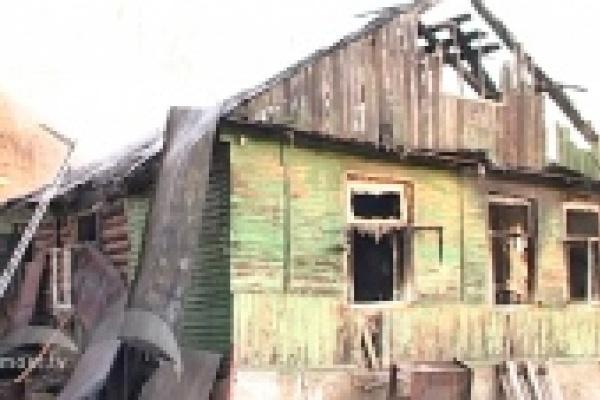 Три ребенка погибли в пожаре в Ельце