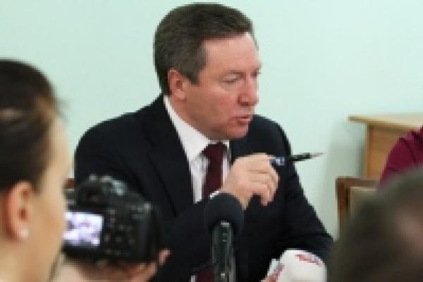 Олег Королев утверждает, что налоговая доля НЛМК в бюджете области сократилась с 76% до  14%