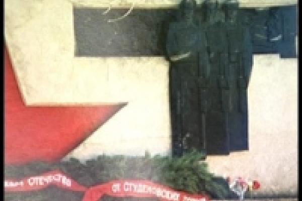 Воры осквернили памятник погибшим  на войне