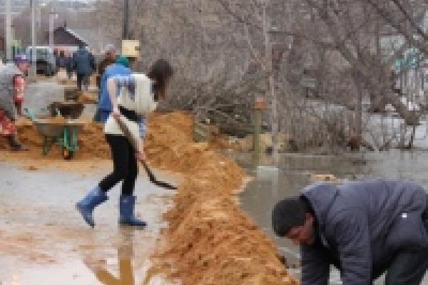 Пострадавшим от паводка в Липецке выплатят деньги после оценки ущерба