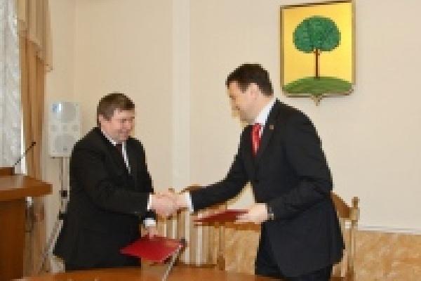 Липецкие горсовет и филиал Академии госслужбы подписали соглашение о сотрудничестве