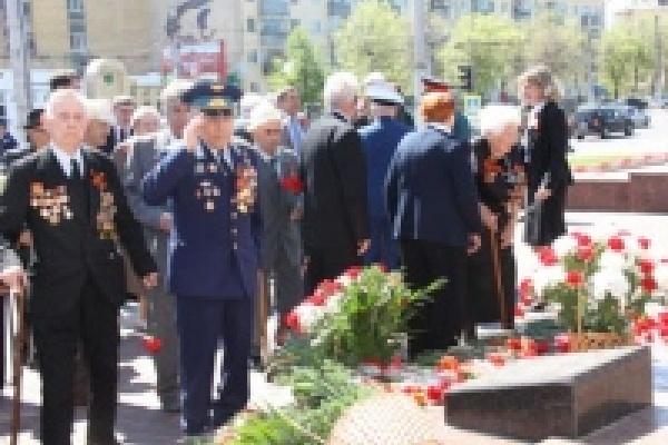 В областном центре прошла традиционная встреча руководителей города с ветеранами Великой Отечественной войны