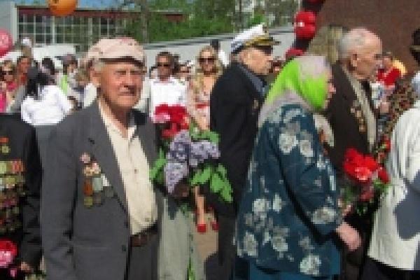 В праздновании Дня Победы приняло участие более 60 тысяч липчан