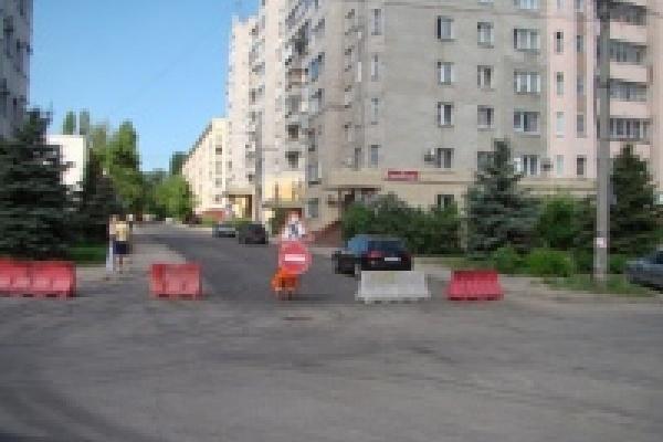 Капитальный ремонт дорог начался с центра Липецка
