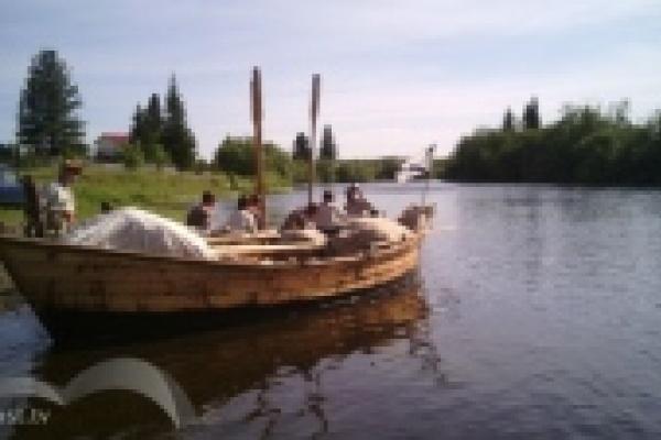 Липецкие реконструкторы миновали треть пути похода «Встречь солнцу 2013»