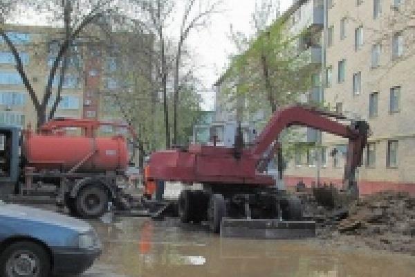 Подача горячей воды откладывается во многих районах города