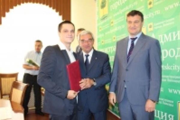 Мэр и спикер горсовета наградили лучших спортсменов Липецка