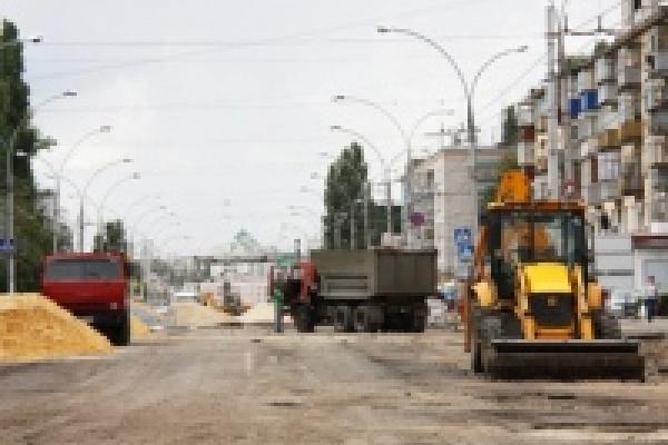 После завершения работ на улице Плеханова дорожники отремонтируют улицу Гагарина