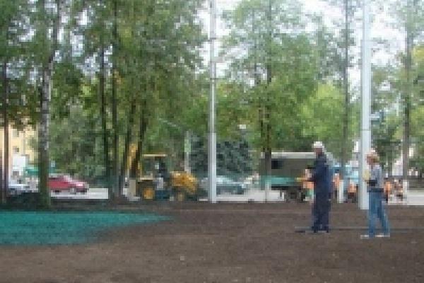 Сеять газоны в Липецке будут американцы