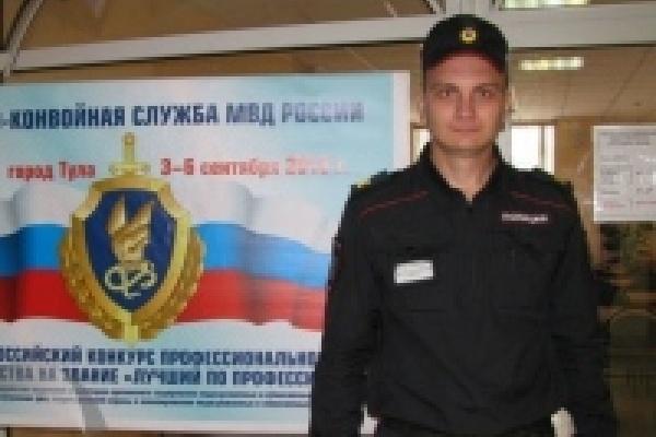 Липецкий полицейский стал «лучшим по профессии» в технико-криминалистической подготовке