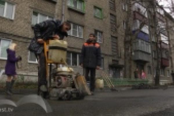 Подрядчики винят погоду в невыполнении плана по ремонту дворов