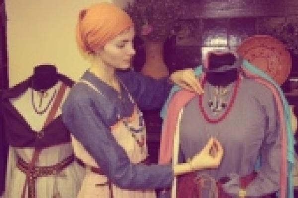 История на ощупь, или Как побывать в доме у славян
