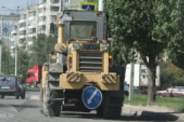 В Липецке заканчивают ремонтировать дорогу на улице Стаханова