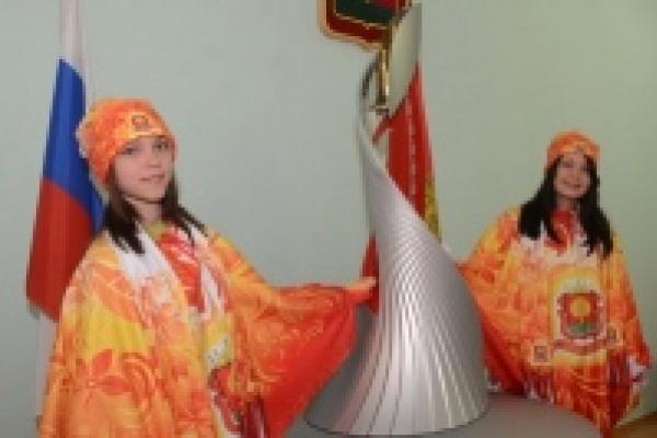 Чашу Олимпийского огня зажгли в Ельце