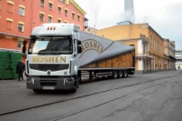 В Липецке полиция блокировала  кондитерскую фабрику «Рошен»