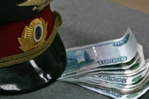 В Липецкой области сотрудник полиции подозревается в получении взятки