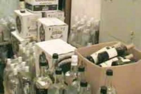«Осетия» растеряла спиртное в Грязях