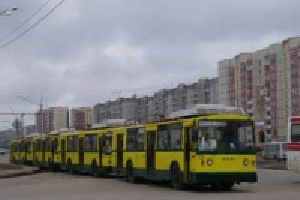 На улицы Липецка вышли новые троллейбусы
