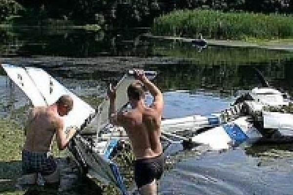 Неподалеку от Липецка упал самолет