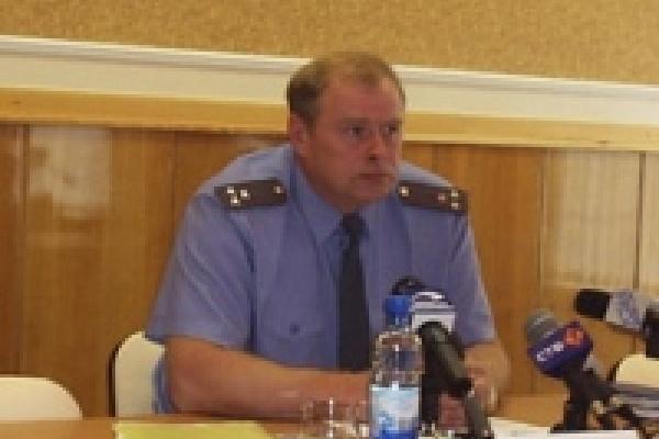 Липецкие милиционеры охраняют порядок на берегу Черного моря
