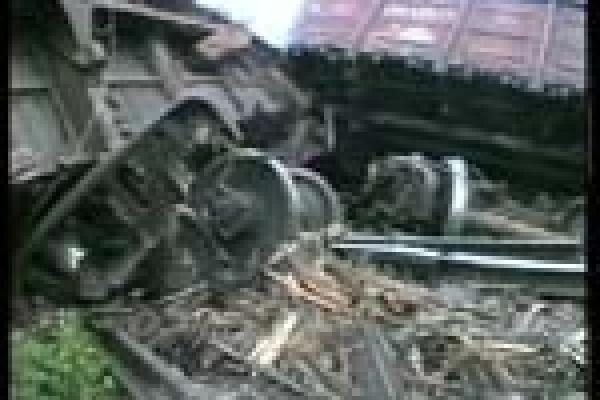 В Липецкой области произошла авария на железной дороге