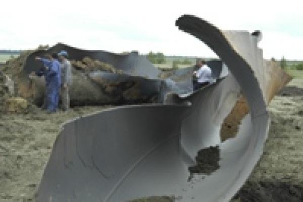В Липецкой области взорвался газопровод