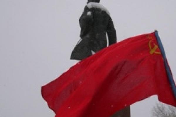 В Липецке «одели» памятник Ленину