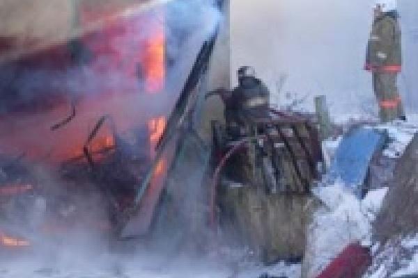 В Липецке взорвался грузовик