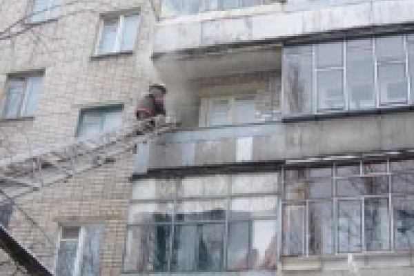 Пожарные успели спасти человека