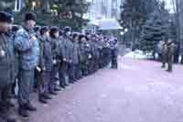 Липецкие милиционеры отправились в Чечню