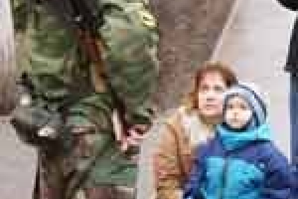Липецкий ОМОН вернулся в Чечню