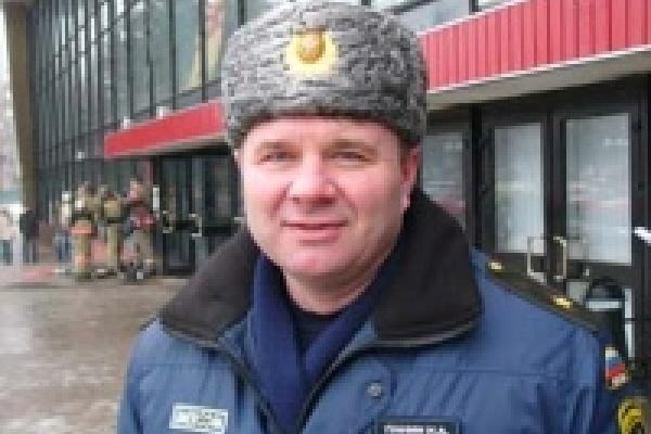 Главный спасатель Липецка продолжает лично проверять гипермаркеты