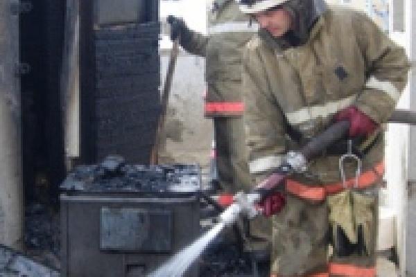Пожарные уберегли новостройку от взрыва