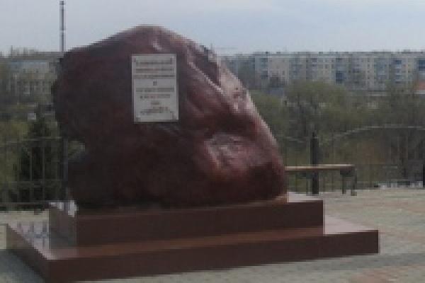 В Данкове открыли памятник чернобыльцам