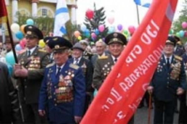 В День Победы на улицы Липецка вышло 150 тысяч жителей города
