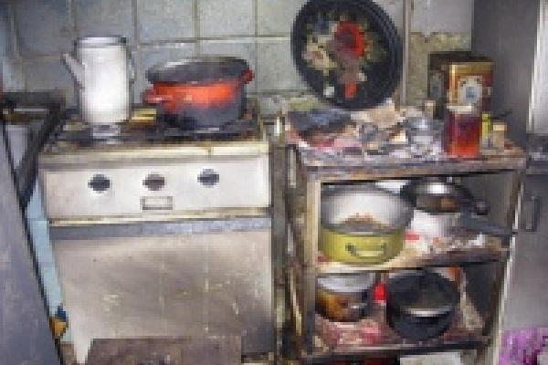 В Липецке сгорел наркопритон