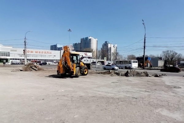 Улицу 50 лет НЛМК в Липецке могут закрыть на реконструкцию в начале мая