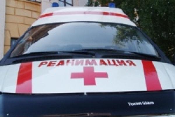 Авария неподалеку от Липецка: иномарка сгорела, человек погиб