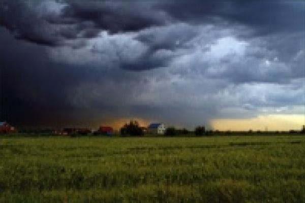 В Липецке объявлено штормовое предупреждение