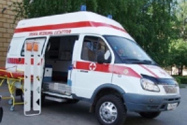 В Данковском районе грузовик раздавил «Десятку»