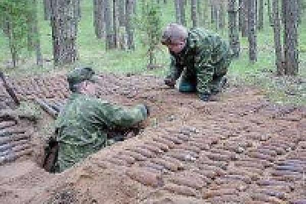 Немецкий арсенал уничтожен