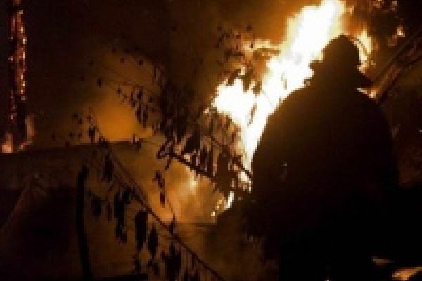 Сгорел житель села Беляево