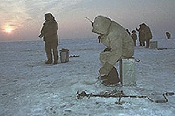 Открыт сезон зимней рыбалки
