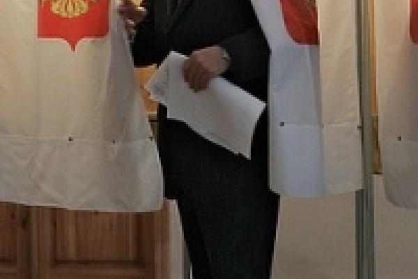 В Добровском районе явка на выборы почти как в годы СССР