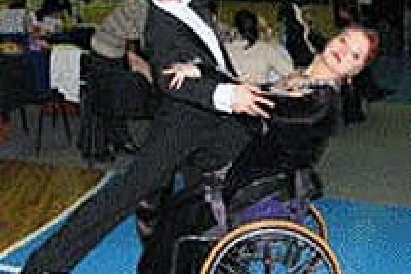 Квик-степ на инвалидной коляске