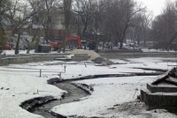Комсомольский пруд поворотится вспять